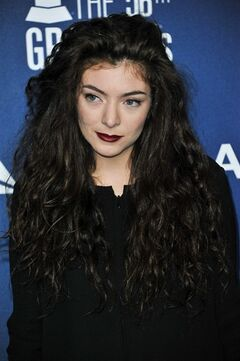 Lorde arrives at the Delta Airlines kick Off Grammy Weekend with a Private Performance, on Thursday, January. 23, 2014, in West Hollywood, Calif. (Photo by Richard Shotwell Invision/AP)