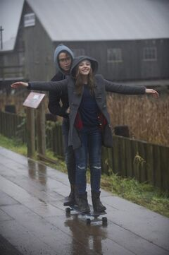 "Jamie Blackley and Chloe Grace Moretz in a scene from ""If I Stay."" THE CANADIAN PRESS/ho-Warner Bros. - Doane Gregory"