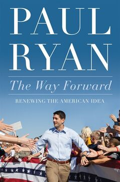 HOLD FOR RELEASE AT 12:01 A.M. EDT AND THEREAFTER ON TUESDAY, AUG. 19, 2014 - This image provided by Twelve Books shows the cover of Rep. Paul Ryan's, R-Wis., new book. As Congress hurtled toward a government shutdown in the fall of 2013, Ryan looked around at fellow Republicans who were agitating to shutter national parks, federal agencies and Head Start programs.
