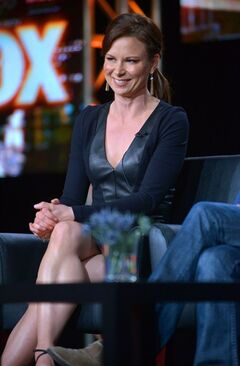 Mary Lynn Rajskub attends the panel for