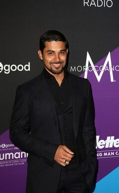 Wilmer Valderrama attends Unite4:humanity, on Thursday, Feb., 27, 2014 in Culver City, Calif. (Photo by J. Emilio Flores/Invision/AP)