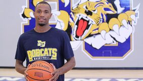 Tyvon Cooper, a six-foot guard from Middletown, N.Y., will join the Brandon University Bobcats men's basketball team in the fall for the upcoming Canada West conference season. (Submitted)