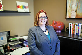 Premier Financial certified planner Tracy Wray, photographed in her Victoria Avenue office, says it's important to set aside money for both the short and long term. Those who don't save for pre-retirement may find themselves making premature RRSPwithdrawals.