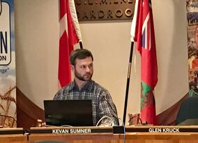 Brandon School Division chair Kevan Sumner, seen during Monday night's board meeting, said the division would not be changing its lottery-style enrolment process for École Harrison after a francophone dad requested his son be automatically given a spot in the city's only single-track French immersion school.