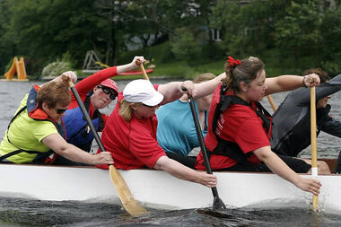 The Dragon Boat Teams start training in early May each Wednesday from 6:15 p.m. to 7:30 p.m. until the end of September.