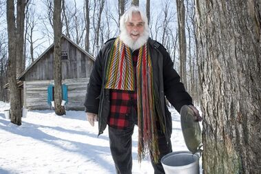 Pierre Faucher, president of Sucrerie de la Montagne, is seen at his sugar shack Tuesday, March 24, 2015 in Rigaud, Que. THE CANADIAN PRESS/Paul Chiasson