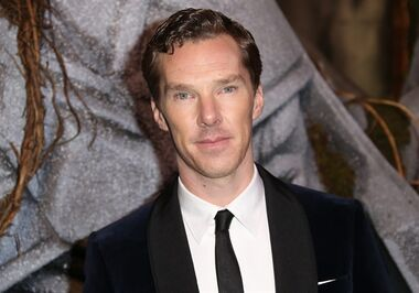 FILE - In this Monday, Dec. 1, 2014 file photo, actor Benedict Cumberbatch as he poses for photographers upon his arrival at the world premiere of the film The Hobbit, The Battle of the Five Armies in London. Oscar-nominated actor Benedict Cumberbatch has joined others in calling for the British government to pardon gay and bisexual men convicted in the past under the defunct