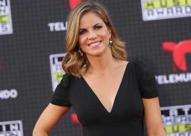 FILE- In this Oct. 8, 2015, file photo, Natalie Morales arrives at the Latin American Music Awards at the Dolby Theatre in Los Angeles. NBC
