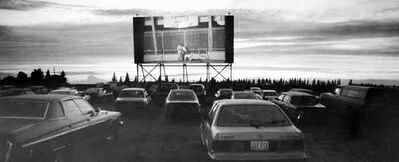 """Brandon's Lucky Star Drive-In is among the Westman theatres included in Russ Gourluck's book """"Silver Screens on the Prairie:An Illustrated History of Motion Picture Theatres in Manitoba."""""""