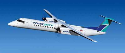 WestJet's new regional air service Encore will use Bombardier Q400 NextGen aircraft.