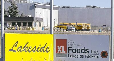 Jeff McIntosh / The Canadian Press archivesThe XL Foods cattle-processing plant is back in business after an E. coli outbreak forced it to close in September.