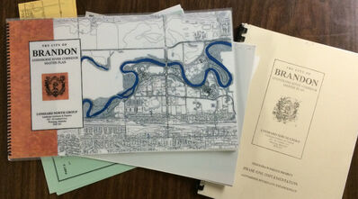A copy of the 1995 Assiniboine River Corridor Master Plan and related planning documents, from Brandon Sun files.