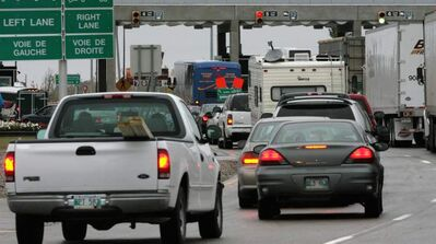 Emerson is a high traffic point for Manitobans entering the U.S.