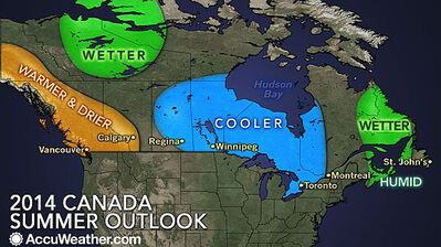 The summer outlook doesn't look good for Westman.