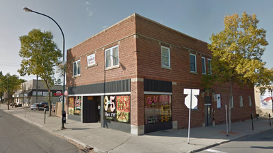 The Orange Block at 12th Street and Princess Avenue, currently home to Mecca Productions, owes the city more than $14,000 in back taxes.