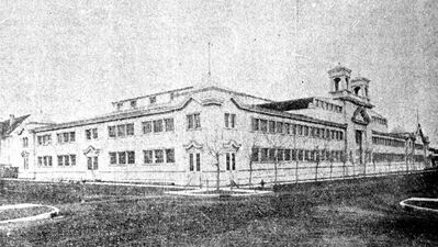 The Brandon Winter Fair building housed the city's Alien Internment Centre from November 1914 to July 1916.