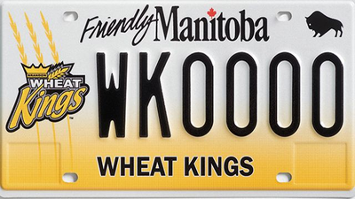Fans of the Brandon Wheat Kings will be able to show their pride on the backs of their vehicles.