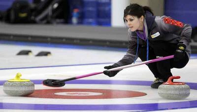 After skipping her own team at the junior women's provincials, Janelle Schwindt is now tossing second stones for Stacey Fordyce at the Scotties women's provincials.