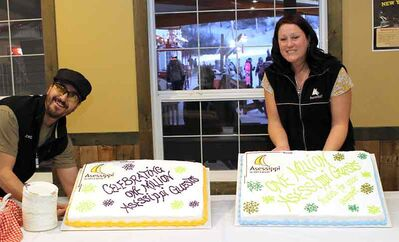 Asessippi Ski Area and Resort recently celebrated welcoming one million guests to the ski resort located near Russell