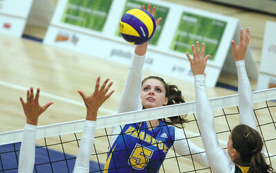 Shanlee McLennan and the BUwomen's volleyball team are now ranked second in the country.