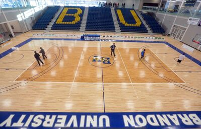 The main gymnasium in the Healthy Living Centre will be named the Richardson Gymnasium.