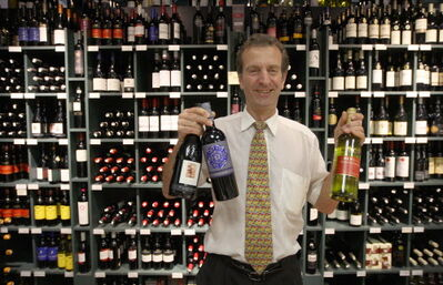 G.J. Andrews Food & Wine Shoppe-store owner George Andrews. Wine sales that are growing at a much faster pace in Manitoba than either beer or spirits. And white wines, in particular, are enjoying a real surge in popularity.