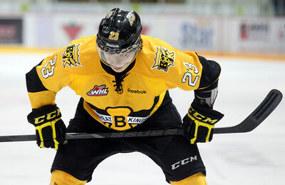 Brandon Wheat Kings centre Tim McGauley begins the playoffs riding an eight-game point streak (3-8-11).