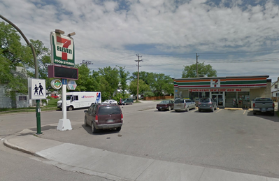 The 7-Eleven store at 10th Street and Van Horne Avenue in Brandon.