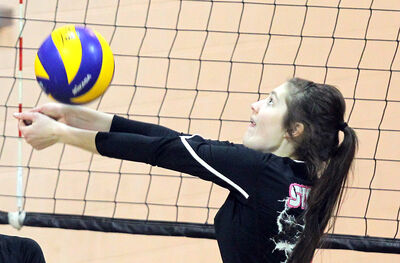 Neelin Spartans middle Alison Quiring has committed to the Trinity Western University Spartans women's volleyball team.