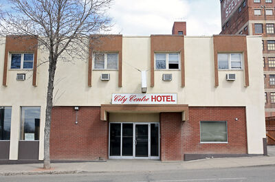 The City Centre Hotel on 10th Street in Brandon is seen on Sunday afternoon. The owners of the Double Decker Tavern on Rosser Avenue say they are finalizing plans to breath new life into the hotel, restaurant, tavern and stand-alone beer vendor.