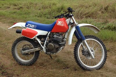 Police are looking for this stolen dirt bike.