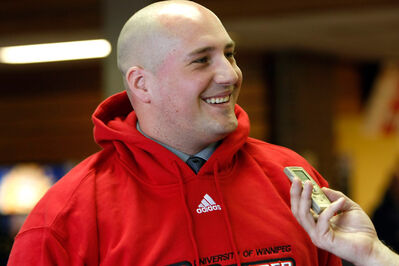 Former Brandonite and ex-Bobcats coach Mike Raimbault is having a tough first year at U of W.
