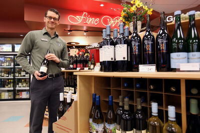 Kevin Kotyk, product consultant at the Shoppers Mall Liquor Mart, recently won the MLCC's Wine Taster of the Year title.