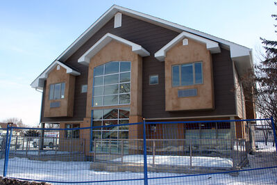 Murray House cancer treatment residence at 521 Frederick St. is near completion. It was originally expected to open by summer 2013. Due to construction delays, the eight-bedroom residence is now expected to open its doors in May.