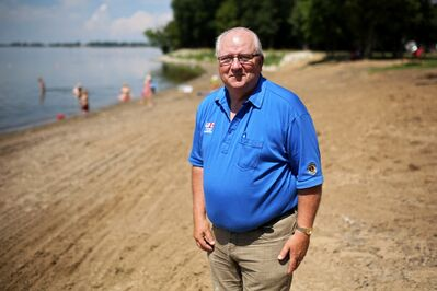 Among his many accomplishments, Rick Plaisier successfully lobbied for dike improvements at Oak Lake after the 2011 flood, then helped initiate the Southwest Flood Strategy Committee.
