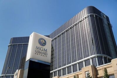 The MGM Grand Detroit hotel is shown in Detroit, Thursday, May 18, 2017. Rocker Chris Cornell, who gained fame as the lead singer of the bands Soundgarden and Audioslave, was found dead Wednesday, May 17, 2017, in his room at the hotel after a performance with his band Soundgarden. Police said Thursday that his death is being investigated as a possible suicide. Cornell was 52. (AP Photo/Paul Sancya)