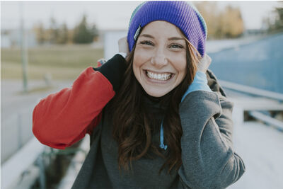 Cassie Hawrysh, who's originally from Brandon, is taking some time away from skeleton to make sure she's healthy after losing a race-off in Utah on Saturday.
