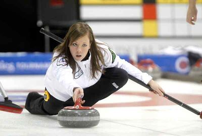 Brandon's Stacey Fordyce fell 8-2 to Chelsea Carey of Winnipeg's Fort Rouge Curling Club in her first draw at the Scotties.