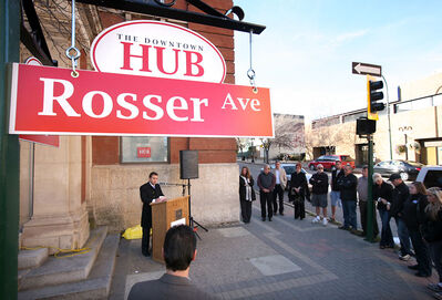 """Members of Renaissance Brandon unveiled their new """"hub"""" branding strategy in October -- a strategy that will take on new significance with the introduction of free wireless Internet access throughout the downtown in 2011."""