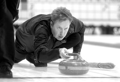 Brandonite Scott Ramsay's team balances competitive curling with having a good time at the provincial men's championship.