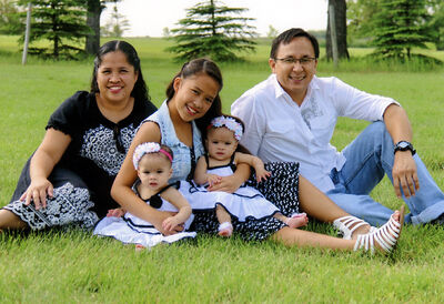 Twin sisters Zayne and Zoey Espayos suffer from a rare blood disorder that threatens their lives. Next month their older sister Zachi will donate bone marrow to try to prevent the twin babies from needing continual blood transfusions. Her parents Reina and MJ moved from the Philippines to Canada less than five years ago.