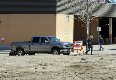 An environmental assessment shows gasoline in the soil at the former Brandon Inn site that is slated for redevelopment.
