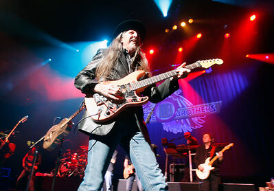 In this 2009 photo, the Doobie Brothers perform at the North American International Auto Show Charity Preview in Detroit. The rock band is set to play Brandon's Keystone Centre on Thursday, Oct. 16, as part of their North American tour. Tickets go on sale Friday at 10 a.m.