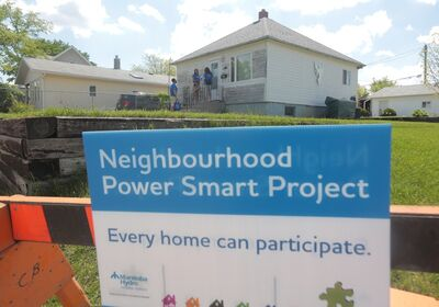 Manitoba Hydro and Brandon Neighbourhood Renewal Corporation have a special program targeting the 700-block of Seventh Street in Brandon.