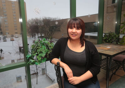 Born in The Pas, Chelsey Meade moved to Peguis First Nation when she was nine years old. Meade, who is Cree and Ojibway, found a true home on the reserve, and also found she excelled at school. She won the 2011 Manitoba Aboriginal Youth Achievement Award in Academics. Now, at just 17 years of age, she's in the middle of her first year at Brandon University and is a proud advocate for her people.