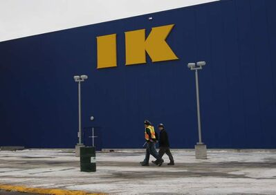 The IKEA store opens Wednesday morning.