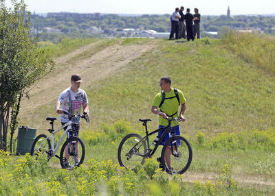Hanbury Hill's not just for mountain bikers or hikers any longer.