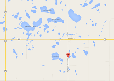 A two-vehicle crash south of Baldur claimed the life of on man yesterday afternoon.