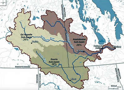 Beginning next year, a new computer-generated model will be able to map out the entire Assiniboine River Basin, which consists of three sub-basins — Assiniboine, Qu'Appelle and Souris.