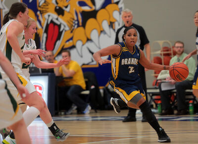 Aleah Bridges gave the BU women's basketball team a credible ball-handler at the point in her first season with the Bobcats.